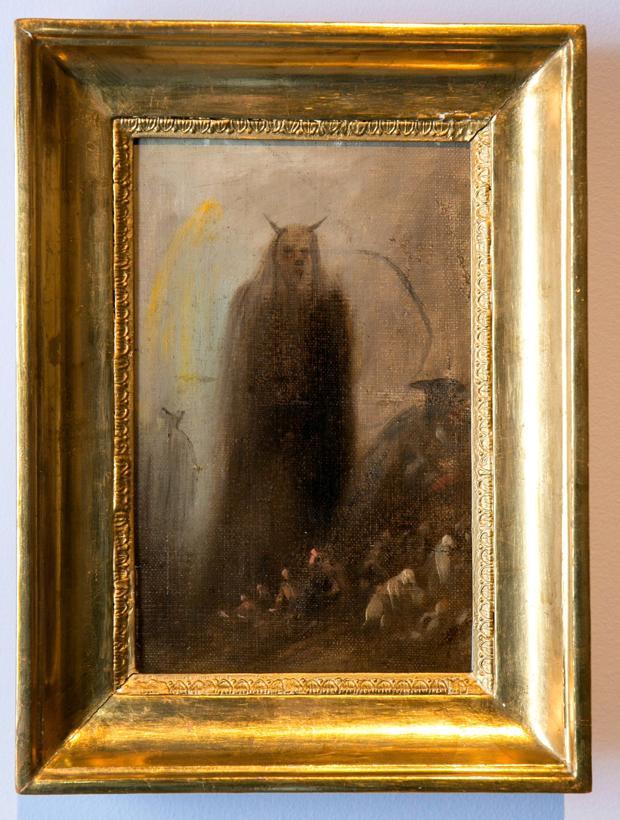 «Visión fantasmal», de Francisco de Goya