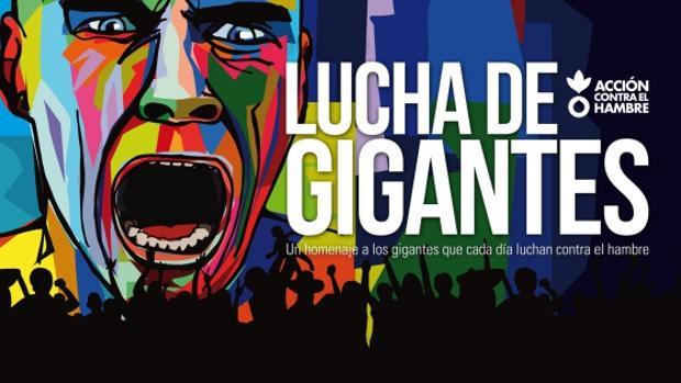 Cartel de «Lucha de Gigantes»