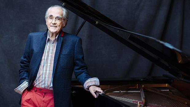 Michel Legrand dice adiós a Paco Martín en el Cartagena Jazz Festival