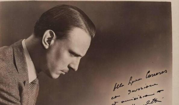 El pianista italiiano Arturo Benedetti Michelangeli (1920-1995)