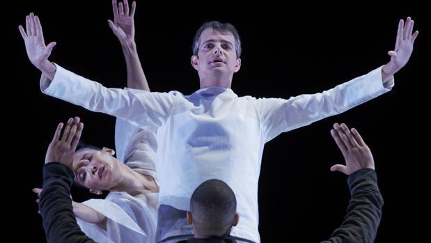 El contratenor Philippe Jarousski, en una escena de la ópera