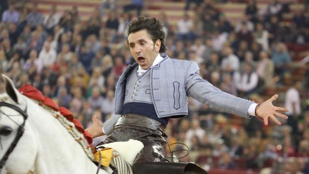 Diego Ventura, en la pasada Feria del Pilar