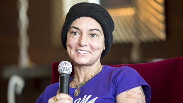 La cantante irlandesa Sinéad O'Connor