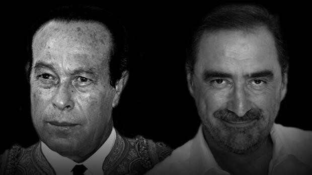Curro Romero y Carlos Herrera