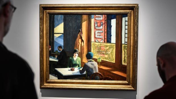 La obra «Chop Suey», de Edward Hopper