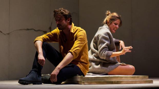 Silvia Valero y Bruno Tamarit, en una escena de «Cuzco»