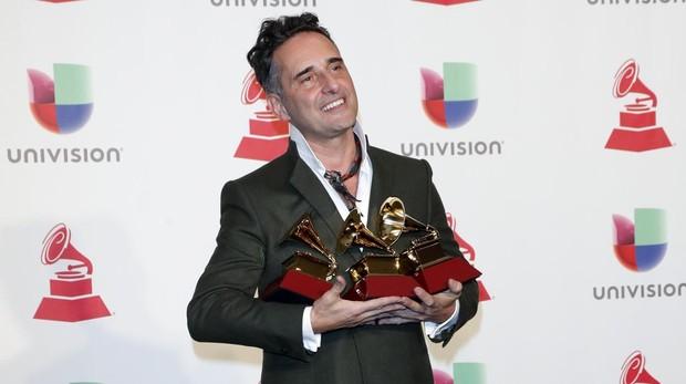 Jorge Drexler con todos sus premios Latin Grammy
