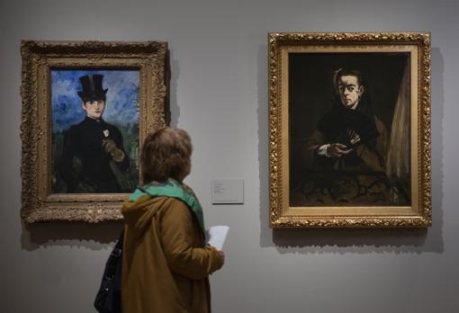 Manet llegó a España en 1865. Se quedó fascinado con el Prado y con Velázquez. Cuelgan en la muestra dos obras del pintor francés