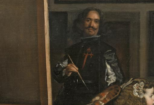 Velázquez, en «Las meninas»