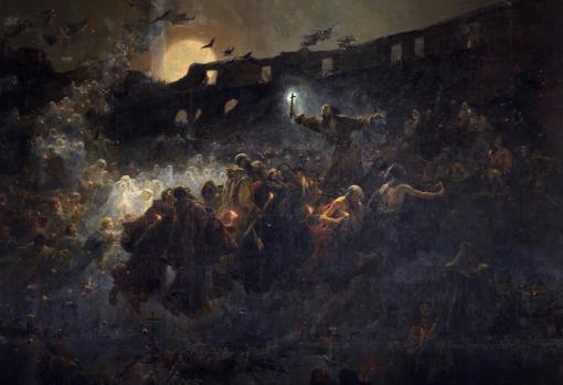 «La visión del Coloseo. El último mártir», de José Benlliure y Gil
