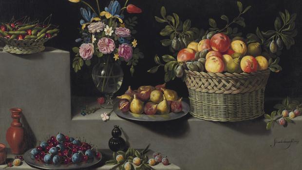 «Bodegón con flores y frutas», de Juan van der Hamen