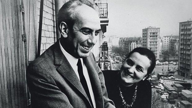 Artur London y su esposa, Lise