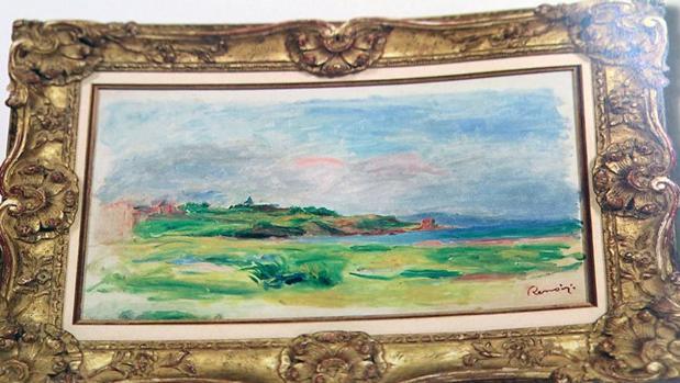 El supuesto Renoir robado