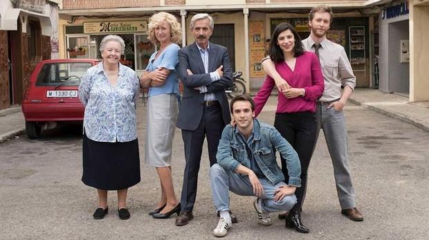 La familia Alcántara, protagonista de «Cuéntame cómo pasó»