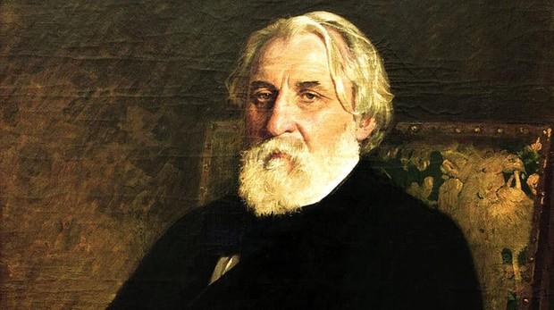 El escritor ruso Iván Turguéniev