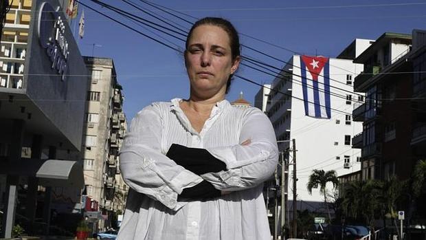 Tania Bruguera en La Habana en 2015