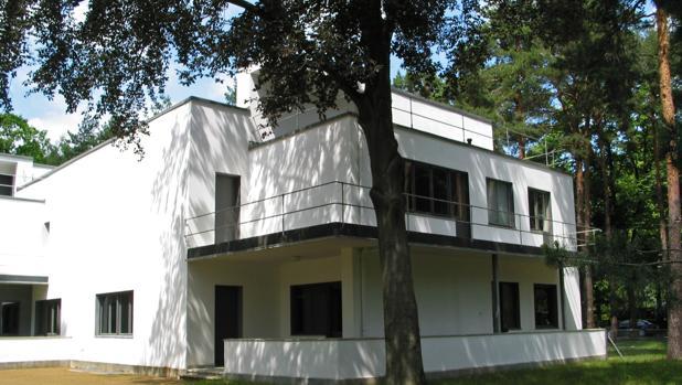 Casa donde vivieron Paul Klee y Wasily Kandinsky, dos de los profesores más célebres de la Bauhaus