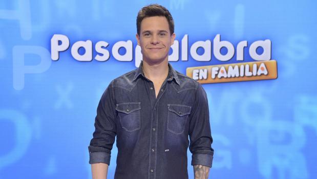 Christian Gálvez, presentador de «Pasapalabra»