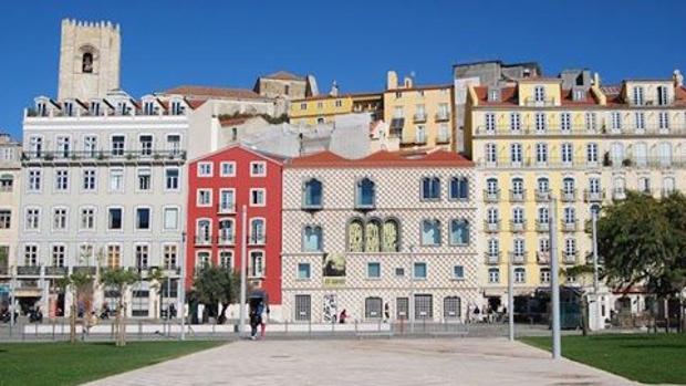 La Plaza José Saramago, en Lisboa