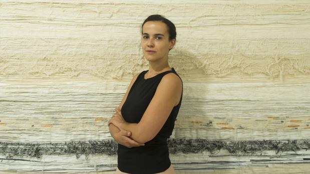 Amrani, en su galería, en una imagen de archivo