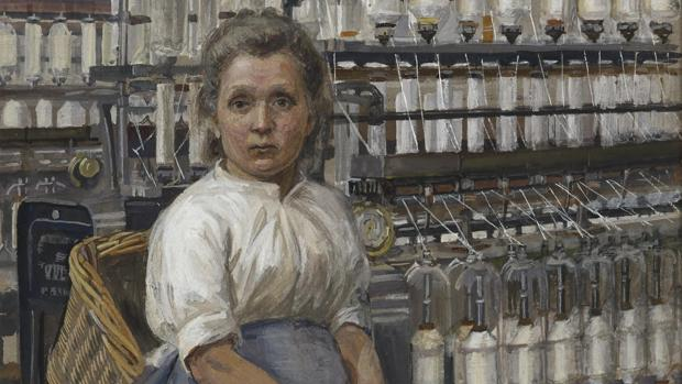 Una de las acuarelas de Sylvia Pankhurst