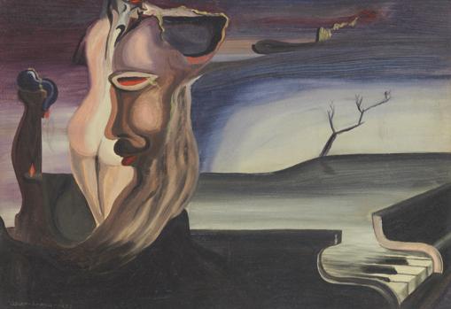 «Piano» (1933), de Óscar Domínguez