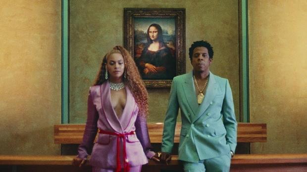 Beyoncé y Jay-Z, en el Louvre junto a la Gioconda
