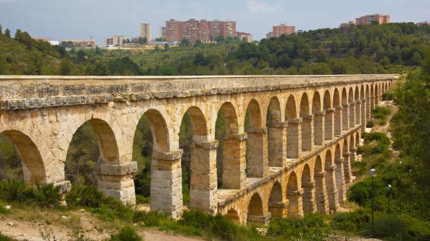 El acueducto romano de Tarragona