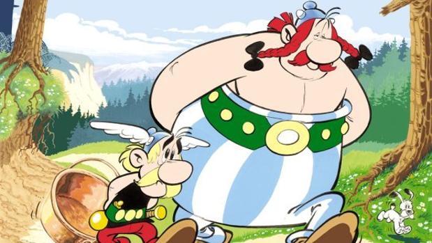 Astérix y Obélix, creados por René Goscinny y Albert Uderzo