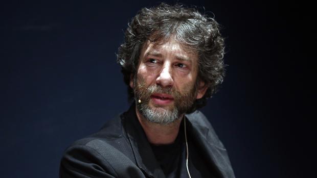 Neil Gaiman en una reciente visita a España