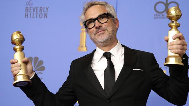 Alfonso Cuarón, con sus dos Globos de Oro