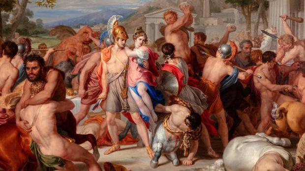 «Combate de lapitas y centauros» (1835)
