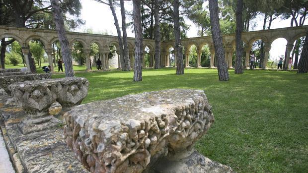 El claustro de Palamós, en 2012