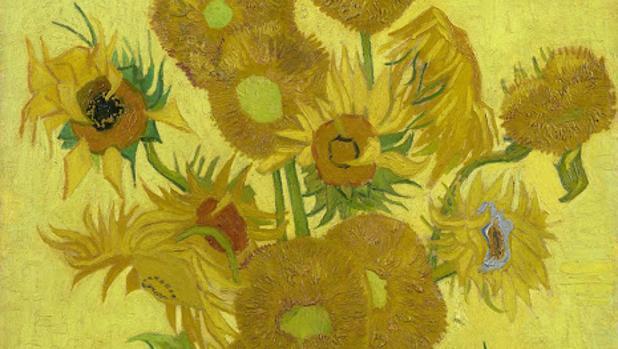 «Los girasoles» de Van Gogh