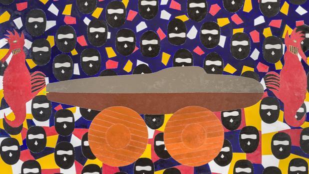 «El Buque Fantasma», de Eduardo Arroyo
