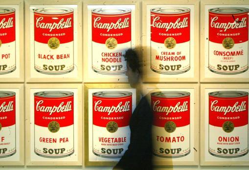 Las Sopas Campbell, según Warhol