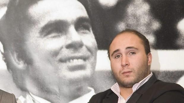 Kiko Rivera, con Cayetano, en un homenaje a Paquirri en Las Ventas