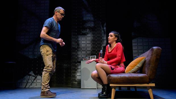 Toni Cantó y Nuria Herrero, en «Linda Vista»