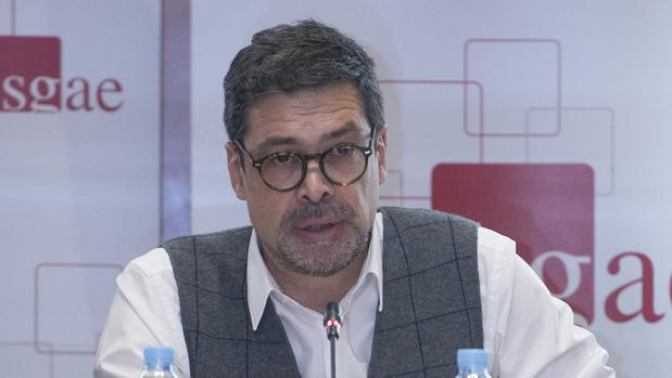 José Ángel Hevia, presidente de SGAE