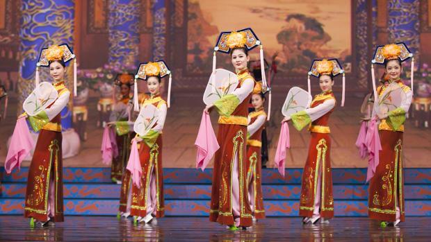 Imagen del espectáculo de danza «Shen Yun»