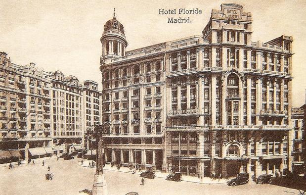 El hotel Florida, en los años treinta