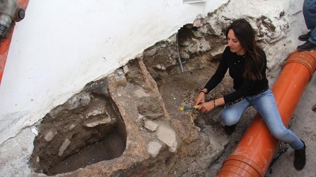 Elena Navas, arqueóloga municipal de Almuñécar