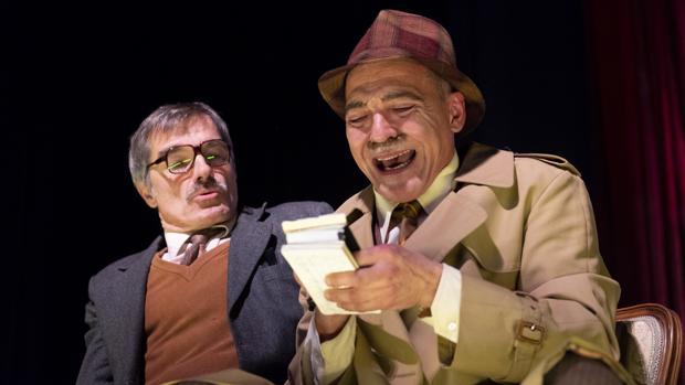 José Luis Alcobendas y José Miguel Cuberom, en «Nekrassov»