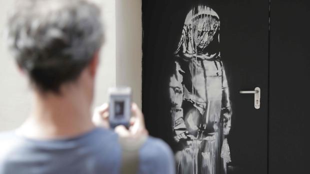 El mural atribuido a Banksy que ha desaparecido