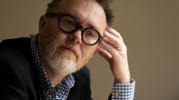 El escritor Rod Dreher durante su reciente visita a Madrid