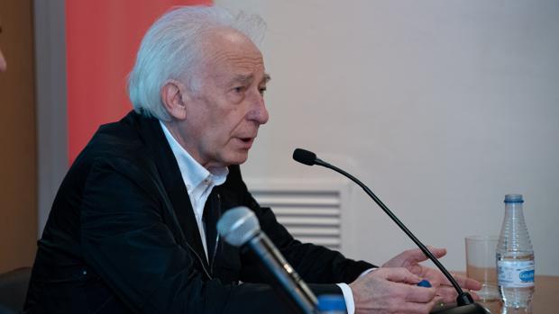 Albert Boadella, durante la presentación de la obra en Barcelona