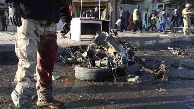 Imagen de archivo de un atentado en Bagdad en 2012