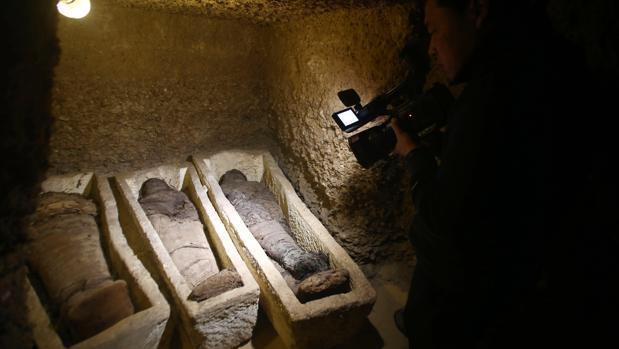 Descubren varias momias en Egipto de la época de Alejandro Magno