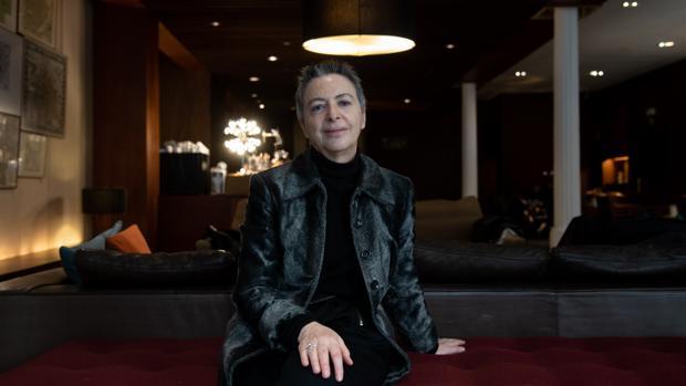 Bárbara Jacobs, fotografiada en Barcelona