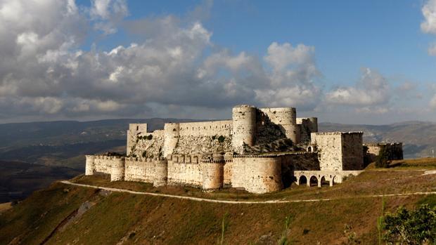 La antigua fortaleza de Crac de los Caballeros, en 2016